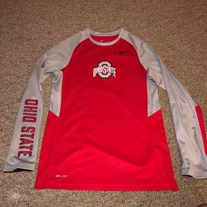 Nike Elite Ohio State Buckeyes Basketball Shirt